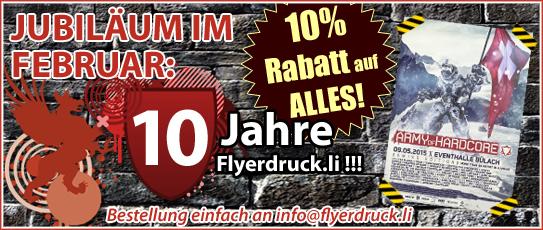 Flyerdruck Liechtenstein Konkurrenzlos Günstig Flyer